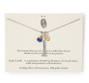 Thank You For Your Part In My Journey Necklace